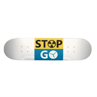 Stop Nuclear Skate Deck