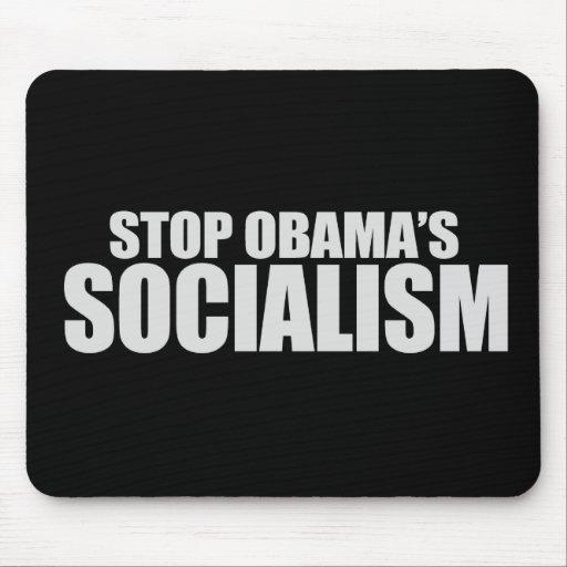 STOP OBAMA SOCIALISM T-shirt Mouse Mat