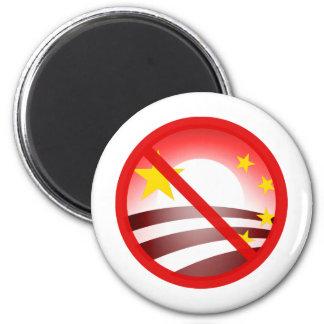 Stop Obammunist Socialism 6 Cm Round Magnet