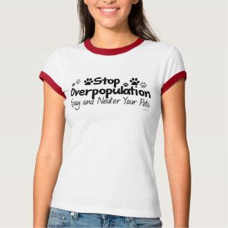 Stop Overpopulation T-Shirt