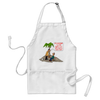 Stop Panicking, I Owe Child Support Standard Apron