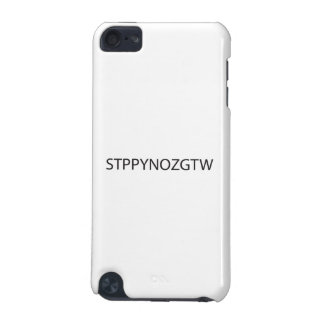 Stop Picking Your Nose Get To Work ai iPod Touch 5G Cases