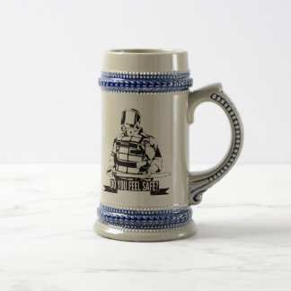Stop Police Brutality Art for Occupy Movements Beer Steins