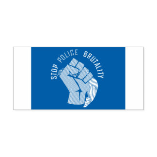 Stop police brutality self-inking stamp
