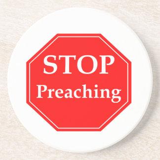 Stop Preaching Coaster