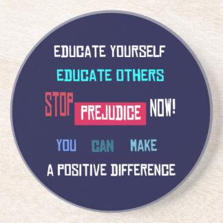 Stop Prejudice Coaster