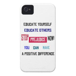 Stop Prejudice iPhone 4 Case