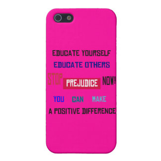 Stop Prejudice iPhone Case iPhone 5 Covers