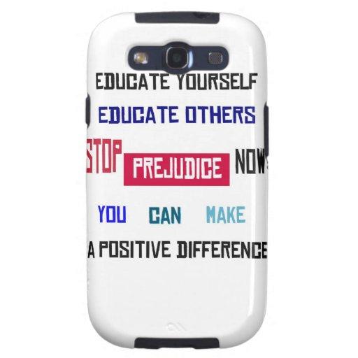 Stop Prejudice Samsung Galaxy Case Samsung Galaxy S3 Cases