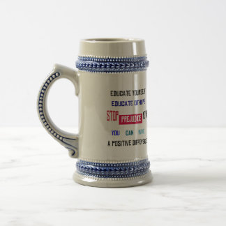Stop Prejudice Stein Coffee Mugs