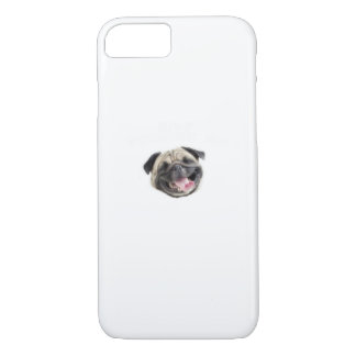 Stop Pugging Me Pug Funny Dog Gifts iPhone 8/7 Case