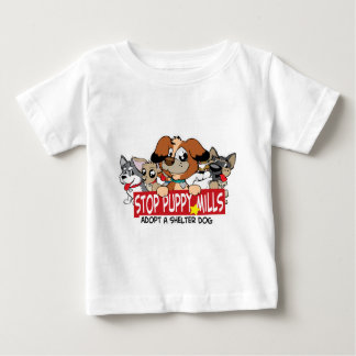 STOP Puppy Mills: Adopt A Shelter Dog Tees