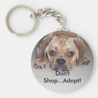 Stop Puppy Mills Key Chains