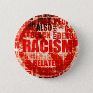 Stop Racism 6 Cm Round Badge