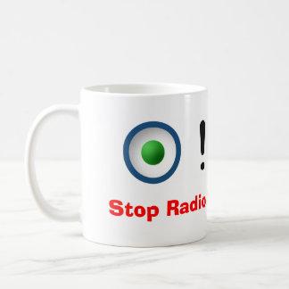 Stop Radio Button Abuse! Basic White Mug