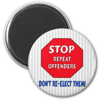 Stop Repeat Offenders Magnet