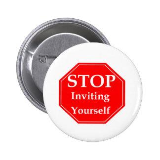 Stop Rudeness #2 6 Cm Round Badge
