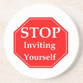 Stop Rudeness #2 Coaster
