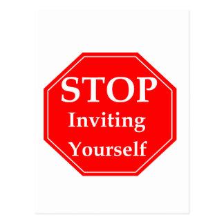 Stop Rudeness #2 Postcard