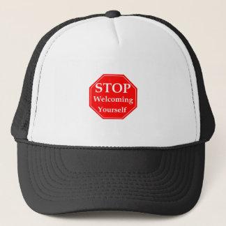 Stop Rudeness Trucker Hat