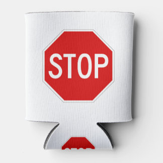 Stop sign can cooler