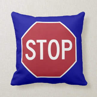 Stop Sign Cushion