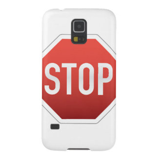 STOP sign Galaxy S5 Covers