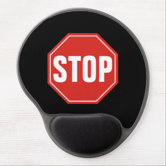 STOP Sign Gel Mouse Pad