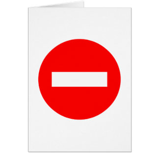 STOP Sign Products & Designs! Card