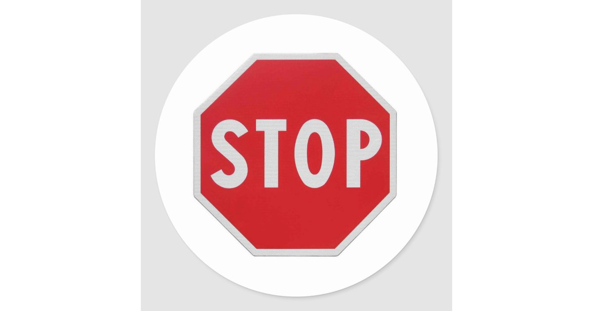 Stop Sign Round Sticker  Zazzle. Kindness Signs Of Stroke. Ios 6 Signs Of Stroke. Bronchitis Signs. Autonomic Dysreflexia Signs Of Stroke. Proposal Signs. Ube3a Signs. Engraved Signs. Sagittarius Horoscope Signs Of Stroke