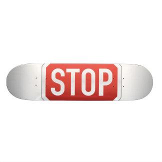 STOP sign 21.6 Cm Old School Skateboard Deck