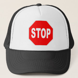 Stop Sign Trucker Hat