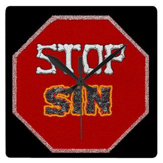 Stop Sin Clock