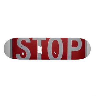 Stop Skate Deck