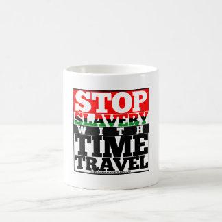 Stop Slavery with Time Travel Mug