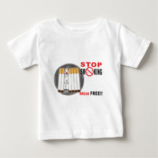 Stop Smoking Reminders - No More Butts Baby T-Shirt