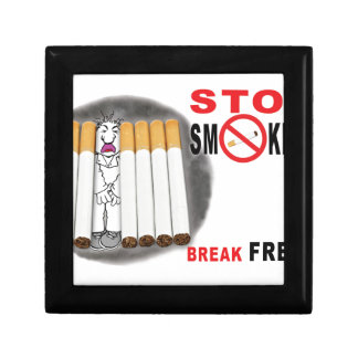 Stop Smoking Reminders - No More Butts Gift Box