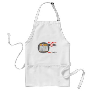 Stop Smoking Reminders - No More Butts Standard Apron
