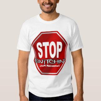 Stop Snitchin' Tee Shirt