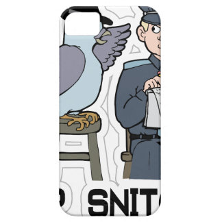 stop snitching pigeon iPhone 5 case