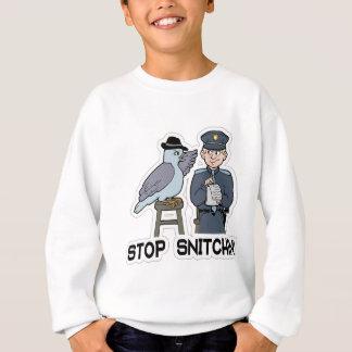 stop snitching pigeon sweatshirt
