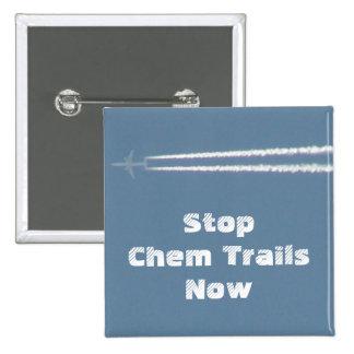 Stop Spraying Chem Trails Button