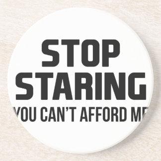 Stop Staring Coaster