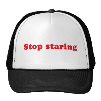 STOP STARING HATS