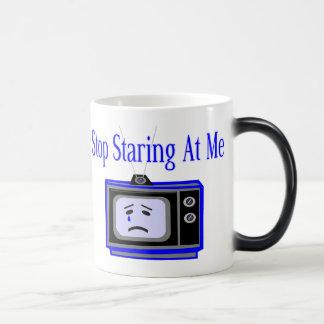 Stop Staring 11 Oz Magic Heat Color-Changing Coffee Mug
