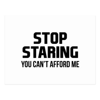 Stop Staring Postcard