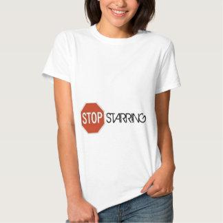STOP STARING T SHIRTS