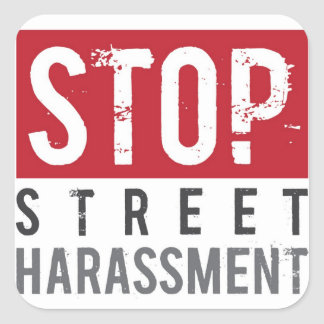 Stop Street Harassment Stickers - Large