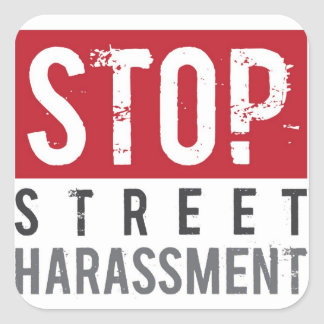 Stop Street Harassment Stickers - Small