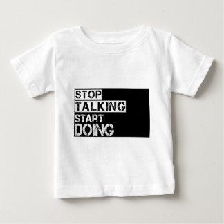 Stop_talking Baby T-Shirt